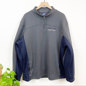 Notre Dame Fleece Lined 1/4 Zip Pullover